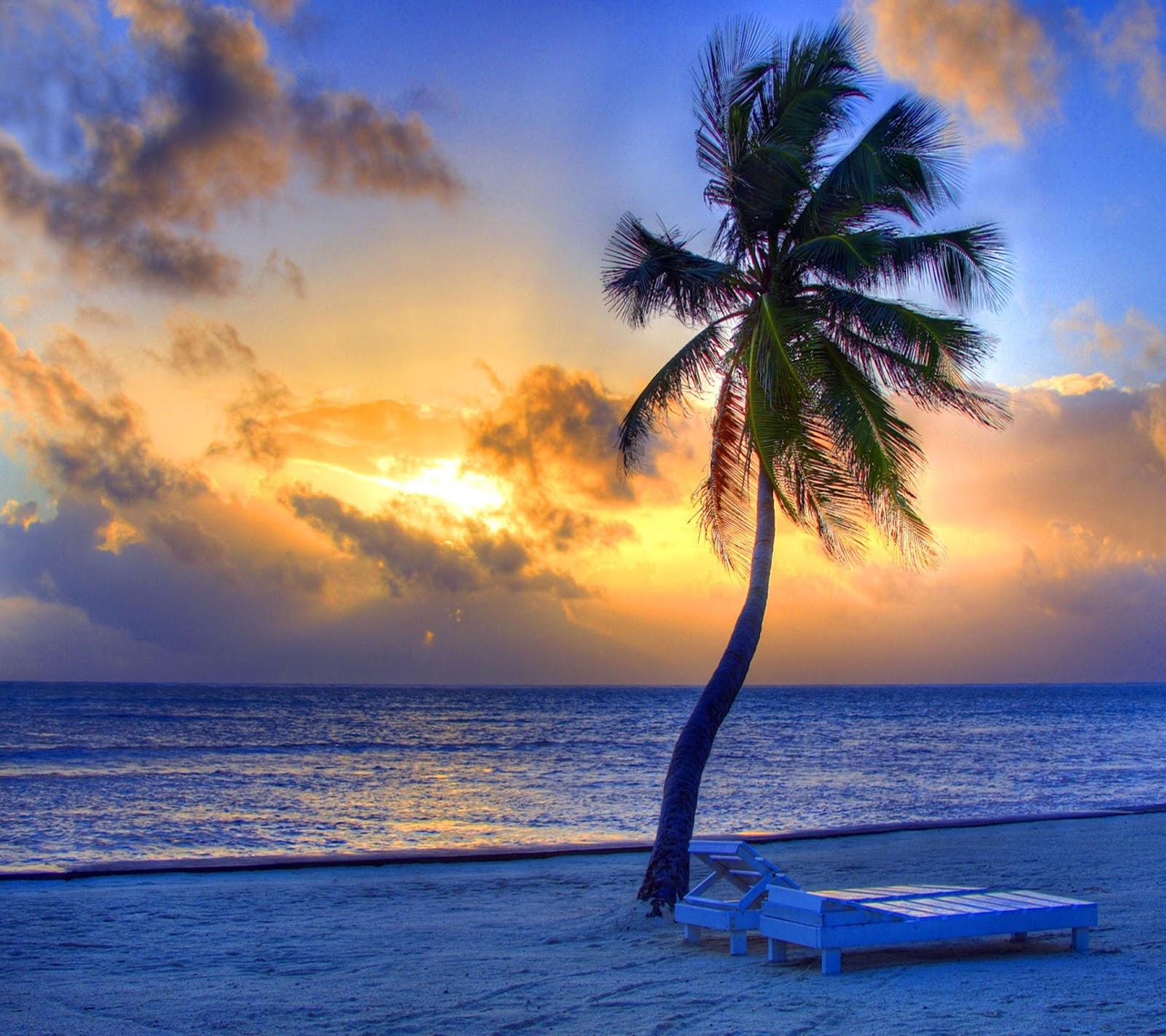 Kata Kataku Gambar Wallpaper Pemandangan Sunset Yang Indah
