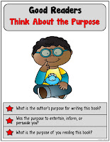 Think about the purpose when reading