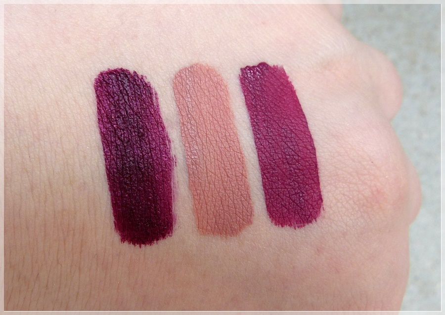 ABH liquid lipsticks Swatches