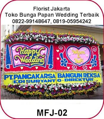 Bunga Papan Wedding HIS Lippo Kuningan, Jakarta Selatan