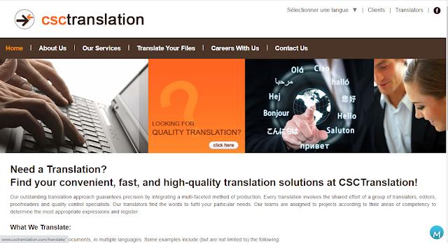 CSC translation