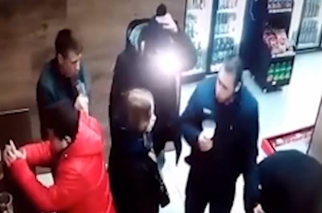 В Салавате посетитель магазина распылил огнетушитель