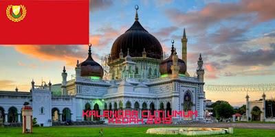 Kalendar Cuti Umum Kedah 2019