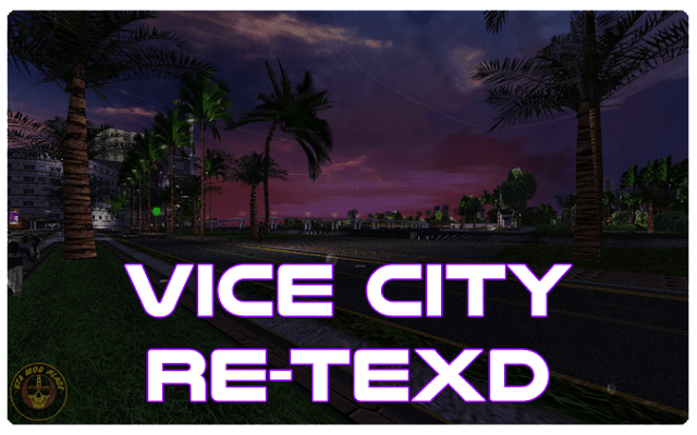 Grand Theft Auto: Vice City Re-Texd v1.0 for GTA Vice City
