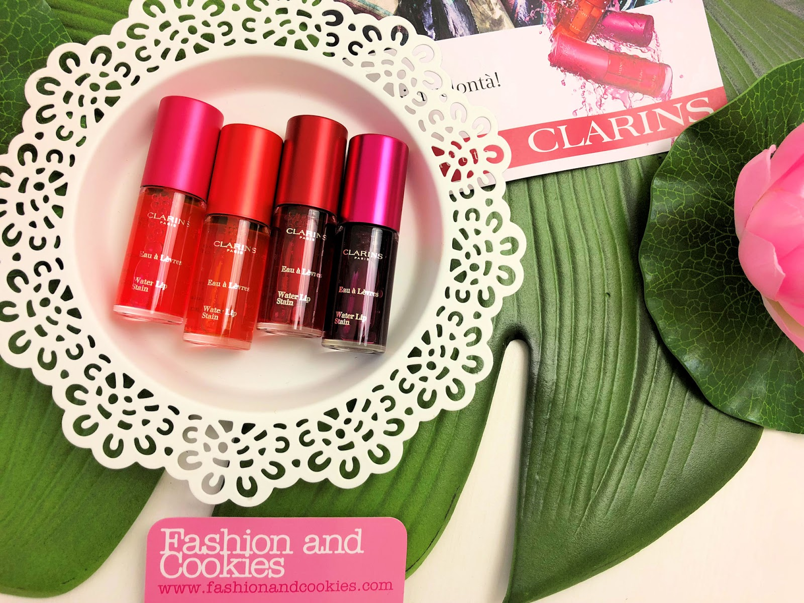 Clarins Water Lip Stain, nuove tinte labbra mat leggere e durature su Fashion and Cookies beauty blog, beauty blogger
