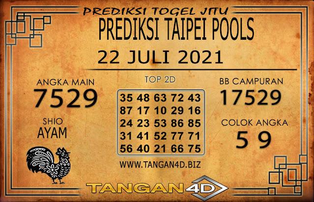 PREDIKSI TOGEL TAIPEI TANGAN4D 22 JULI 2021