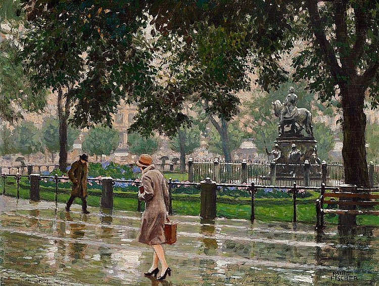 Paintings by Paul-Gustave Fischer