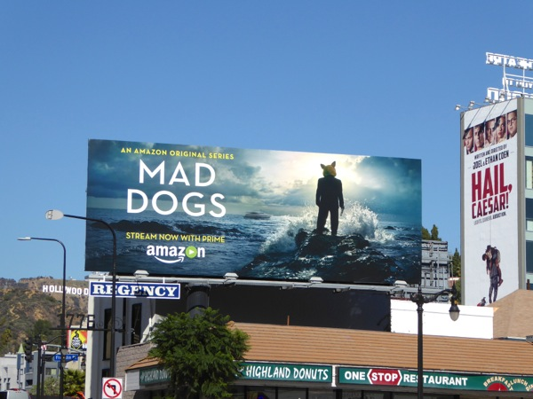 Mad Dogs US TV remake billboard