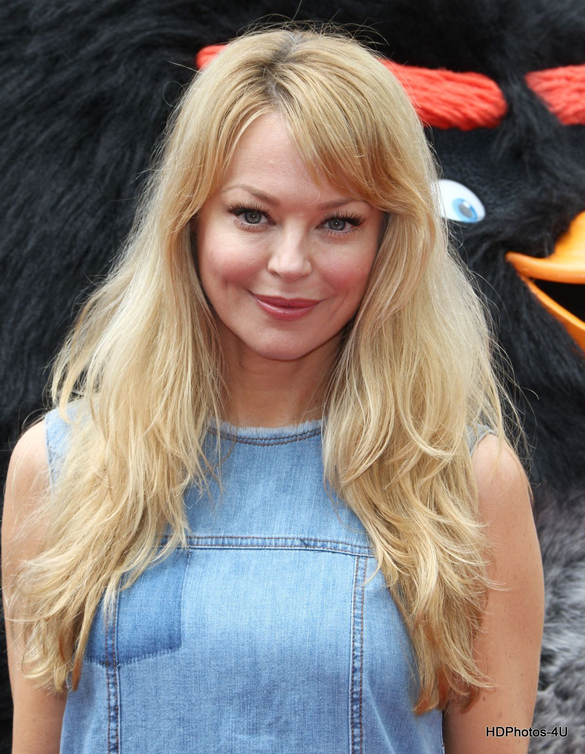 "Charlotte Ross At Premiere Of ""The Angry Birds Movie"" In Westwood"