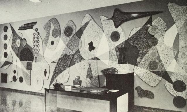 Margaret Bruton's Money Mural