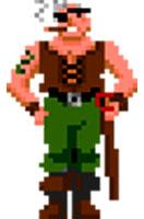 The Secret of Monkey Island Capitán Smirk