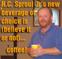 RC Sproul Jr's beverage of choice is coffee