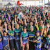 Mais de 600 pessoas comemoram aniversário de Ji-Paraná pedalando