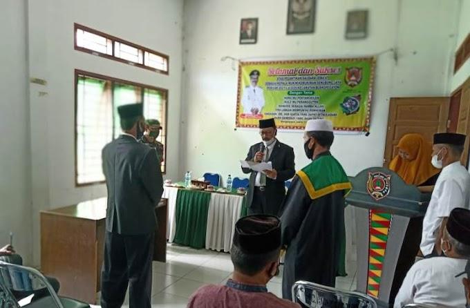 Selamat & Sukses; Camat Blangpegayon Lantik Imem Mukim Senubung Jaya