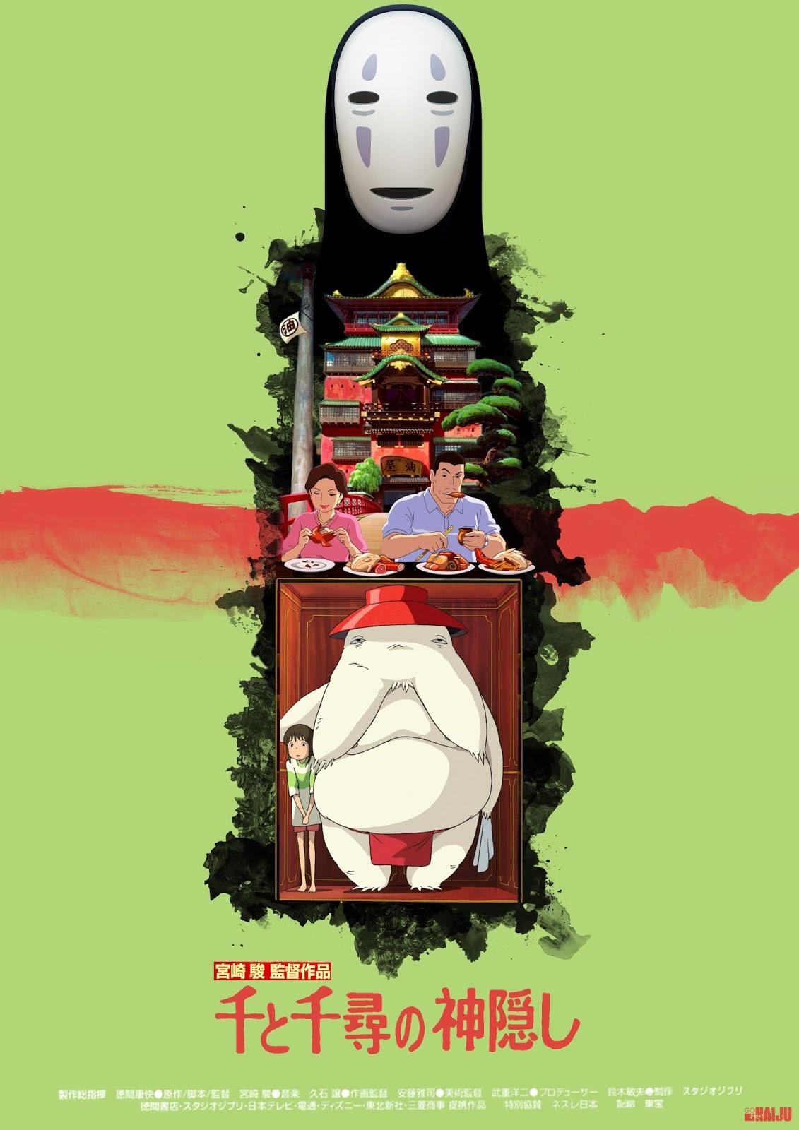 Le Voyage De Chihiro Personnages : voyage, chihiro, personnages, Gokaiju:, Voyage, Chihiro, Magnolia, Ghost, Shell