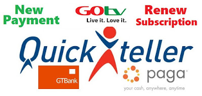 GOTV Payment Online | Recharge GOTV Subscription Packages in Nigeria