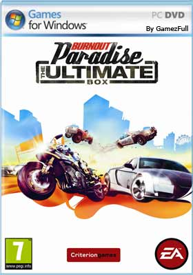 Descargar Burnout Paradise The Ultimate Box pc full español mega y google drive.