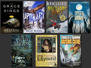 Recent SciFi: a grab-bag of books for you