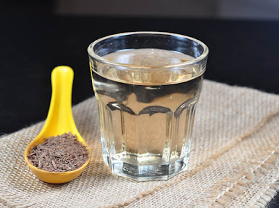 cumin water weight loss