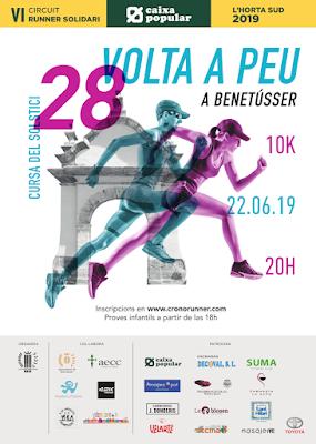 Benetússer recibe el verano con la 28 edición de su Volta a Peu Cursa del Soltstici