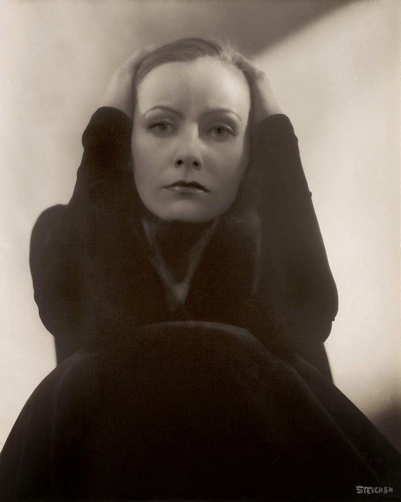 Greta Garbo 1928 por Steichen