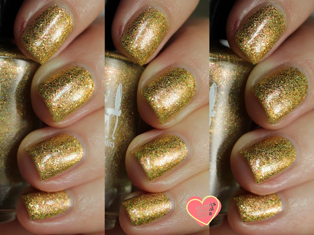 Girly Bits Sax Me Up swatch by Streets Ahead Style