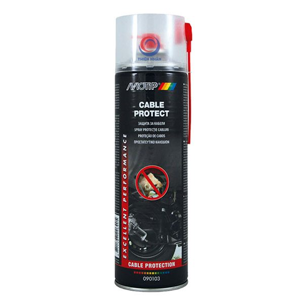 Cable Protect 500 ml (M) chống lại các loài gặm nhấm như chuột, sóc, v.v… cắt đứt các loại dây cáp