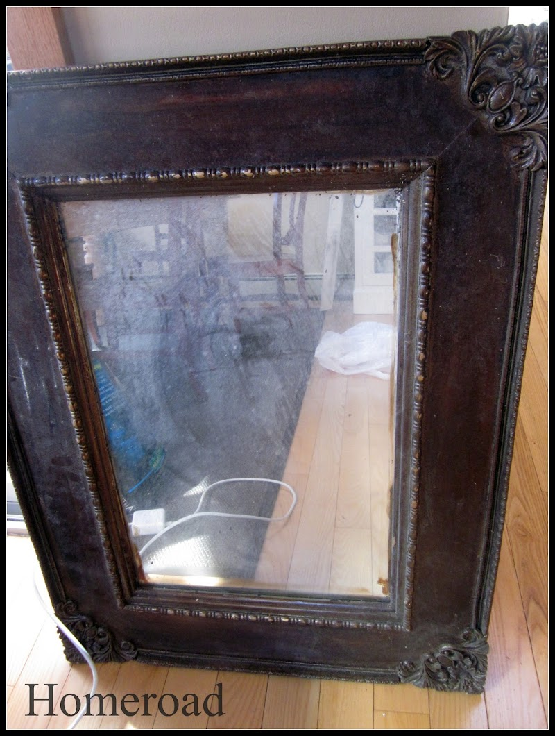 How to Paint an Ornate Mirror
