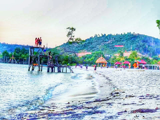 Pantai Vio Vio Cantik Barelang Batam