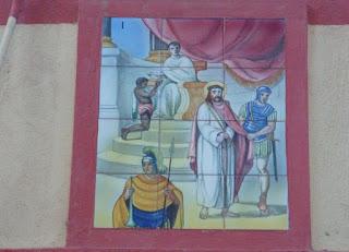 Estación n° 1. Jesús sentenciado (c/ Major,46)
