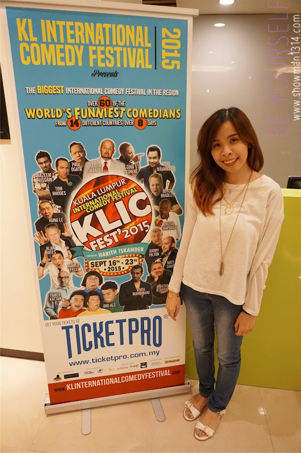 KL International Comedy Festival 2015
