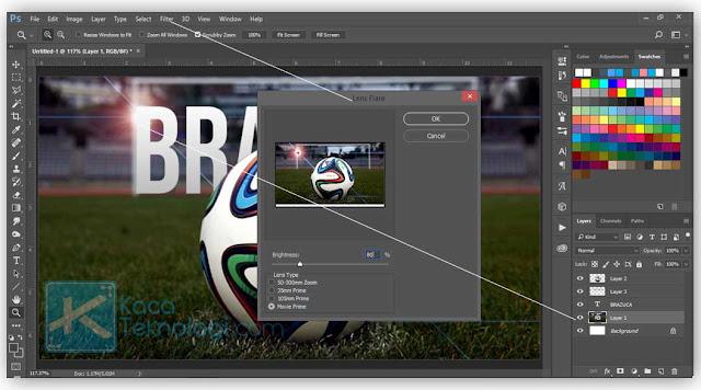 Cara Membuat Tulisan Berada di Belakang Objek Foto di Photoshop dan cara menampilkan tulisan yang tertutup oleh gambar agar tampak di depan photoshop menggunakan photoshop versi cs2,cs3,cs4,cs5,cs6, dan cc