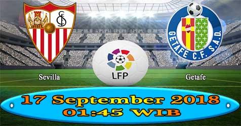 Prediksi Bola855 Sevilla vs Getafe 17 September 2018