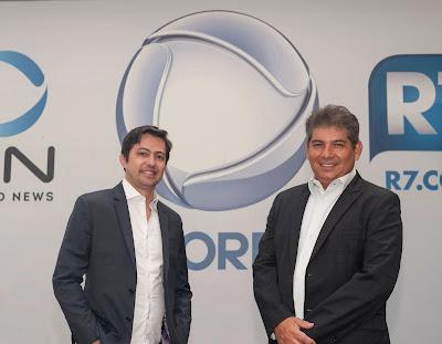 Foto: Paulo Itabaiana (esquerda) e Wagner Constantino Martins  Crédito: Antonio Chahestian/Divulgação Record TV
