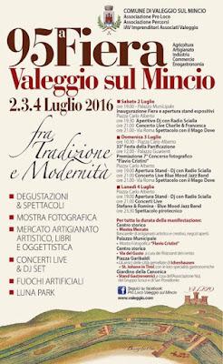 Fiera di Valeggio sul Mincio 2-3-4 luglio Valeggio sul Mincio 2016