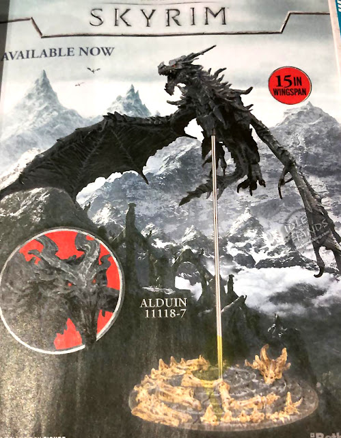 Toy Fair 2020 McFarlane Elder Scrolls Skyrim Dragon Alduin Action Figure 01
