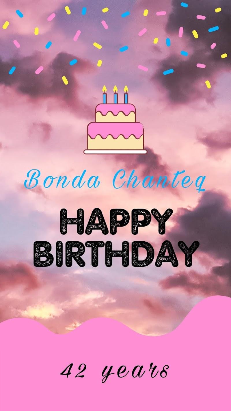 Sambutan Hari Lahir Bonda Chanteq ke 42 Tahun