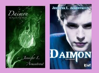 Reseña de la novela juvenil de fantasía Daimon, de Jennifer L. Armentout