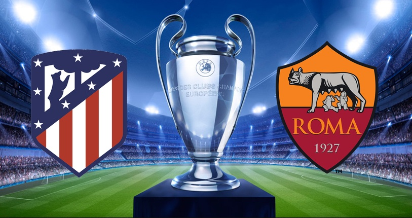 ATLETICO MADRID-ROMA Streaming Live: dove vederla gratis e in Diretta TV | Calcio Champions League