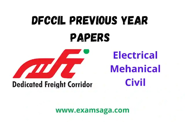 DFCCIL Previous Year Paper Pdf Of Junior Manager, Executive and Junior Executive Posts