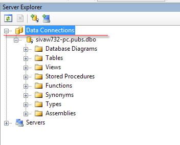 Setting-Up the Data Connection