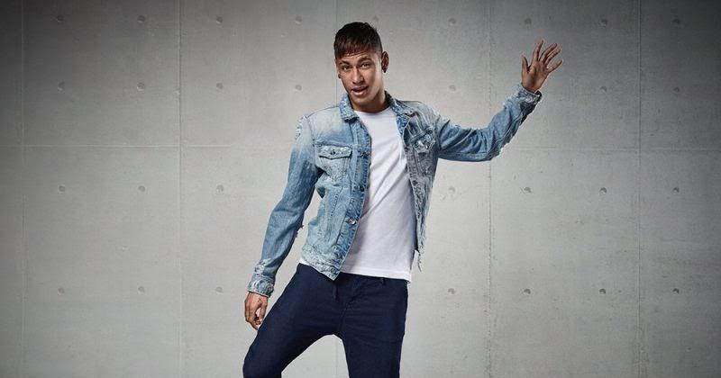 neymar jr alessandra ambrosio x replay hyperfree campaign. Black Bedroom Furniture Sets. Home Design Ideas