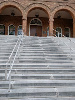 front entrance to 16th street Baptist Church