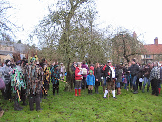 wassailing in oxfordshire