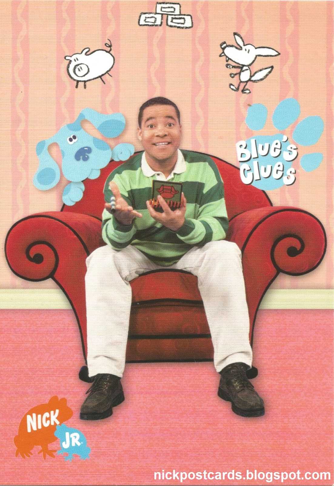 theories on blue s clues A few weeks ago, i was bedridden with a fever and could do nothing but watch old shows on cable blue's clues was on the theme of that episode was safety they had.
