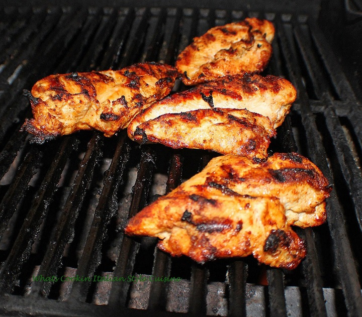 how to make an oil rubbed grilled chicken
