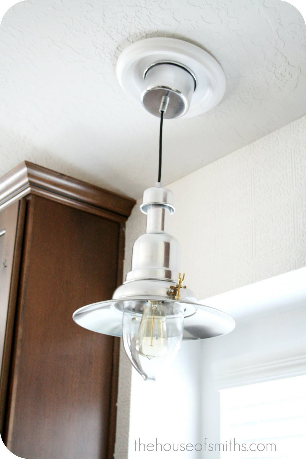New Kitchen Lighting - Converting a can light with a ...