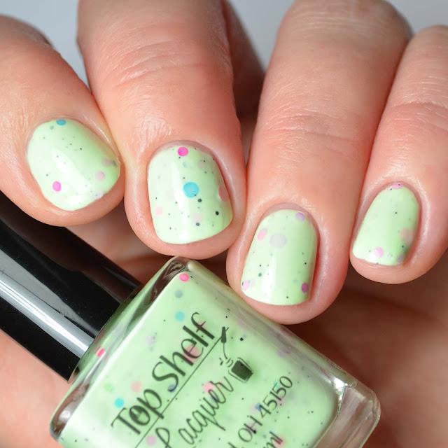 lime crelly nail polish