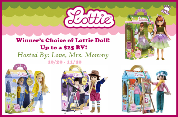 inner's Choice of Lottie Doll Giveaway! Open to Worldwide entries! 11/10