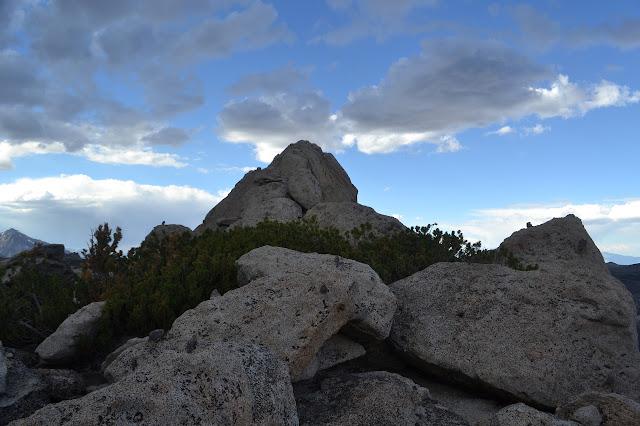 Table Mountain summit block